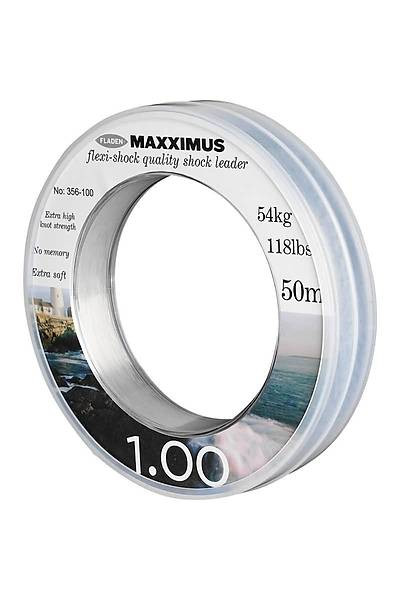 Fladen Maxximus Flexi-Shock Leader Misina 50M 1.20 MM