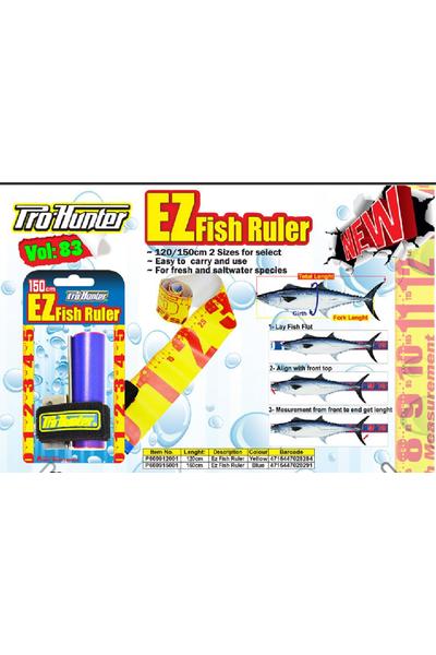 Pro hunter EZ Fish Ruler Balýk Metresi 150 cm