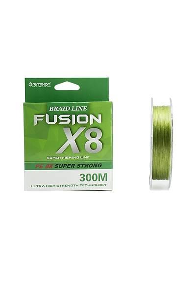 Remixon Fusion 300m X8 Green Ýp Misina 0,16 mm