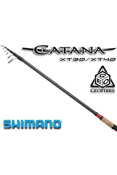 SHIMANO CATANA CX TELE SPIN 2,70 -MH- 14-40 GR