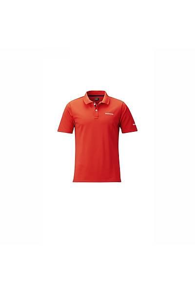 Shýmano Polo Shirt Fiery Red  #M