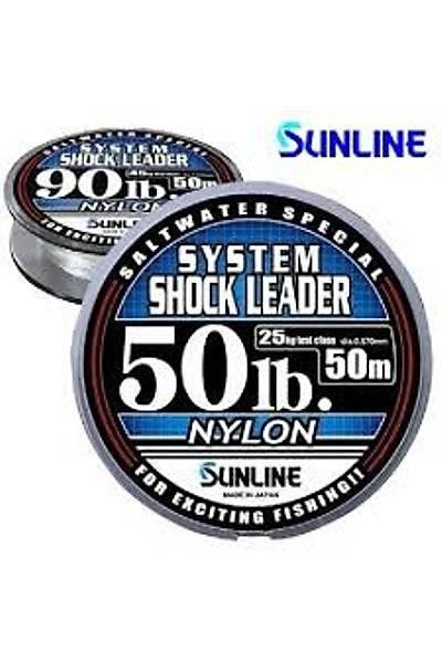 Sunline System Shock Leader Clear Misina