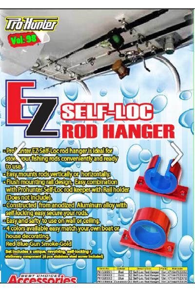 Pro hunter EZ Self-Loc Rod Hanger