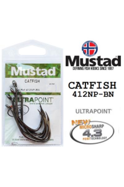 Mustad Catfish 412NP-BN