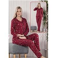 önden düðmeli pijama takým