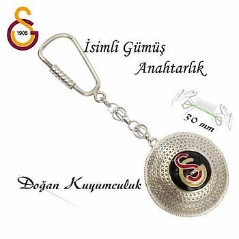 GS Amblemli Midyat Elişi Gümüş Telkari Anahtarlık STOK KODU: 20151192