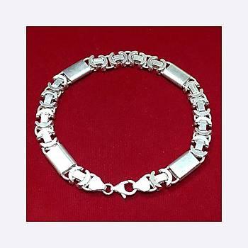 Dolce Model Gümüş Erkek Bileklik Stok Kodu: 20161875