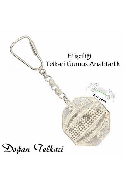 Midyat Eliþi Gümüþ Telkari Anahtarlýk STOK KODU: 20151191
