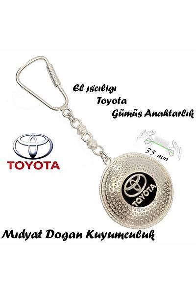 Toyota Amblemli Midyat Eliþi Gümüþ Telkari Anahtarlýk STOK KODU: 20151197