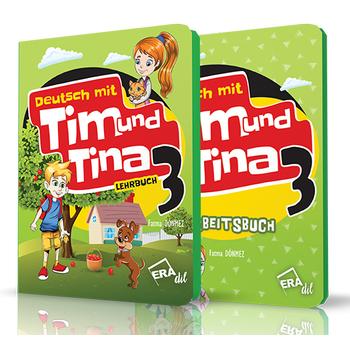 TIM UND TINA 3 LEHRBUCH + ARBEITSBUCH