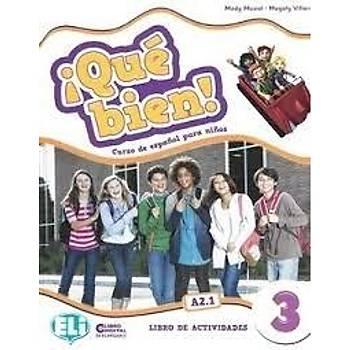 ¡Qué bien! 3 - Libro del Alumno + Libro de actividades + CD AUDIO