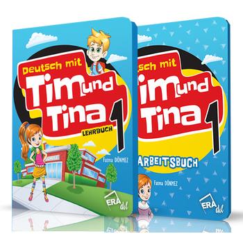 TIM UND TINA 1 LEHRBUCH + ARBEITSBUCH