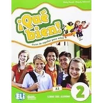 ¡Qué bien! 2 - Libro del Alumno + Libro de actividades + CD AUDIO