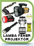 FENER-PROJEKTOR-LAMBA kafa lambasý fener