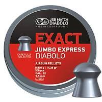 JSB DIABLO EXACT JUMBO EXPRES 5.52 MM HAVALI SACMA