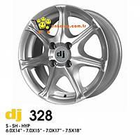 DJ 328 Çelik Jant 17 (4 Adet)