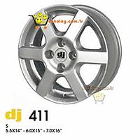 "DJ Çelik Jant 411 15"" (4 Adet)"