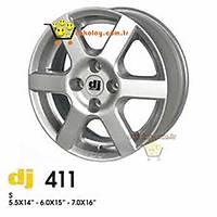 "DJ Çelik Jant 411 14"" (4 Adet)"