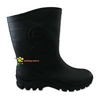 Dunlop Dane Çizme Kýsa Siyah ( Thermolite Çorap Hediyeli )