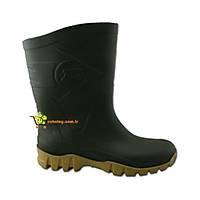 Dunlop Dane Çizme Kýsa Yeþil Bej ( Thermolite Çorap Hediyeli )