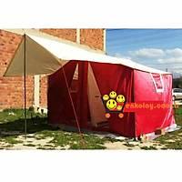İki Odalı Dıştan Kurma Kamp Çadırı