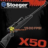 Stoeger X50 Plastik Namludan Kurmalý Havalý Tüfek 4.5mm