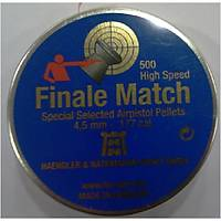 Finale Match 4.5 Cal Havalý Tabanca Saçmasý