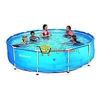 Bestway Büyük Boy Kurma Aile Havuz Seti (56030)