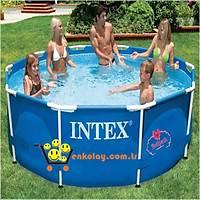 Intex 56994 Prefabrik Mavi Havuz 366x76cm