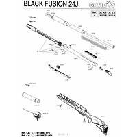 Gamo Black Fusion IGT 4.5mm Havalý Tüfek (Hediyeli)