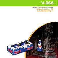 "Süper Konik Gümüþ Volkan (V-663) 6"""