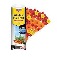 Zero In Window Fly Trap Pencere Sinek Yapýþkaný 3'lü