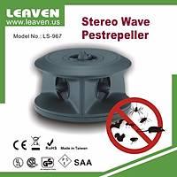 Leaven  3D Stereo Combosonic Sonik + Ultrasonik Fare, Haþere, Yarasa Kovucu 1700m3 Etkili (LS-967)
