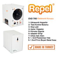 Repel END 700 Endüstriyel Ultrasonik Fare Sýçan Yarasa Kovucu