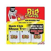 Big Cheese Quick Click Mouse Trap Fare Kapaný 3'lü Set