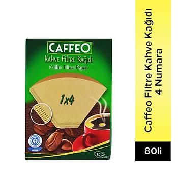 Caffeo Filtre Kahve Kaðýdý 4 Numara 80 Adet