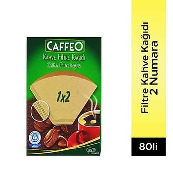 Caffeo Filtre Kahve Kaðýdý 2 Numara 80 Adet
