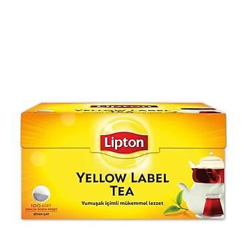 Lipton Yellow Label Demlik Poset 100lü 3,2 Gr.