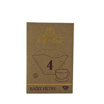 Coffee Time 1*4 40 'Lý Kahve Filtre Kaðýdý