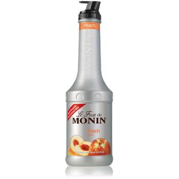 Monin Le Fruit Peach 1 Lt (þeftali)