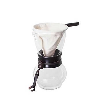 Hario Drip Pot Woodneck Ahsap Boyunluklu DPW-3