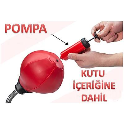 Masaüstü Boks Torbasý - Desktop Punching Bag
