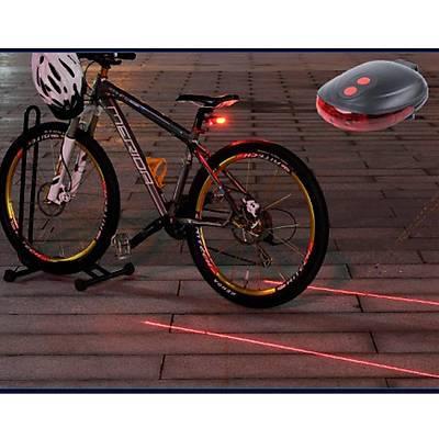 Lazer Güvenlik Þeritli Bisiklet Stop Lambasý