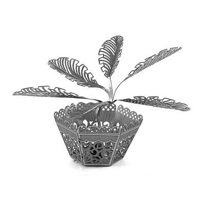 Metal Works - Sago Palm Plant