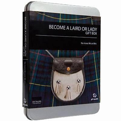 Leydi veya Lord Olun Hediye Seti - Become Laird or Lady Gift Box