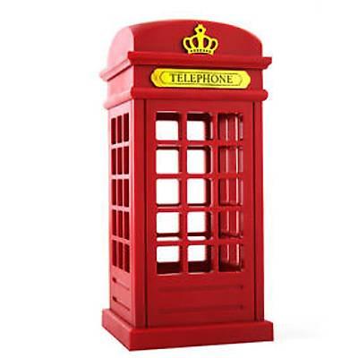 Dokunmatik İngiliz Telefon Kulübesi Gece Lambası  - British Booth Light