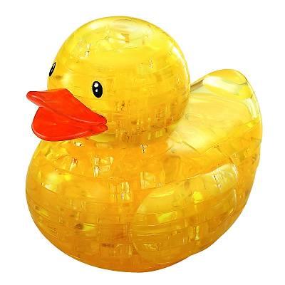 3D Crystal Puzzle Duck - 3 Boyutlu  Ördek Puzzle