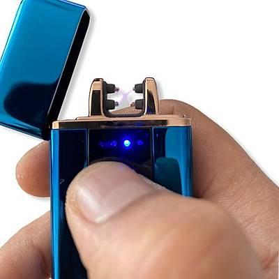 Dokunmatik Plazma Çakmak - Plazma Ark Lighter