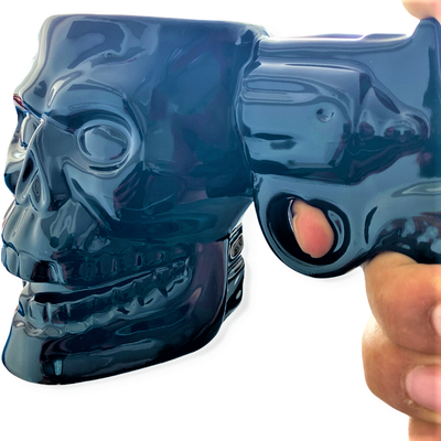 Skull Gun Mugs - Silah Kupa
