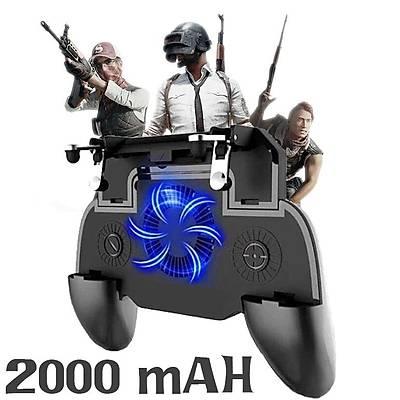PUBG Fanlý Oyun Denetleyicisi SR 2000 mAH Joystick Ateþleyici Tetik